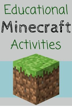 educational minecraft activities